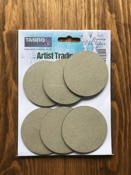 Tando Chipboard - Artists Trading Coins